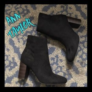 Gorgeous Ann Taylor Black Suede Boots